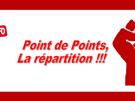 DI PACA-Corse : Point par points, la répartition !!!