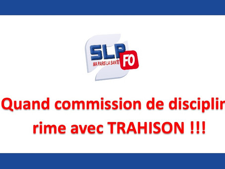 Prison de Paris-La Santé : Quand commission de discipline rime avec TRAHISON !!!