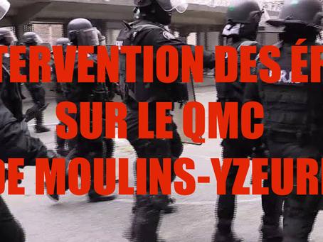 Prison de Moulins-Yseure : Intervention des ÉRIS sur le QMC