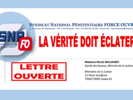 Lettre ouverte à Madame Nicole Belloubet, Garde des Sceaux, Ministre de la Justice : La vérité doit