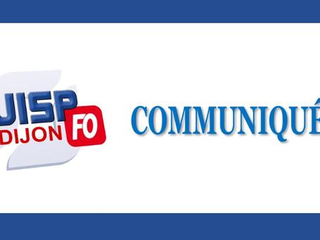 Communiqué de l'UISP Dijon : Visite du DAP