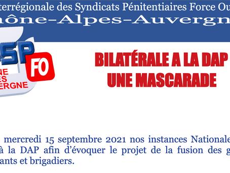 Bilatéral à la DAP : Une mascarade