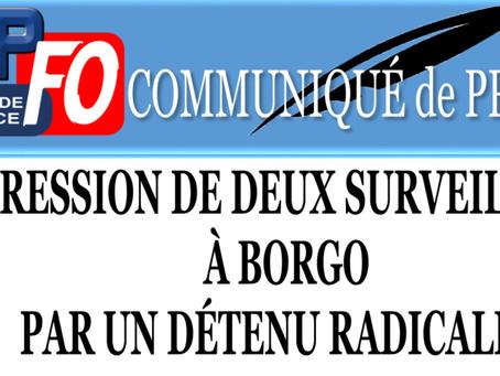 Prison de Borgo : Agression de deux surveillants par un détenu radicalisé