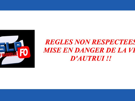 Prison de Marseille : Règles non respectées mise en danger de la vie d'autrui !!