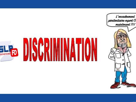Prison de Salon-de-Provence : Discrimination