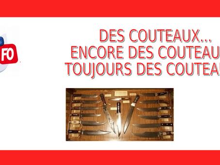 Prison de Toulon-la-Farlède : Des couteaux... Encore des couteaux... Toujours des couteaux !