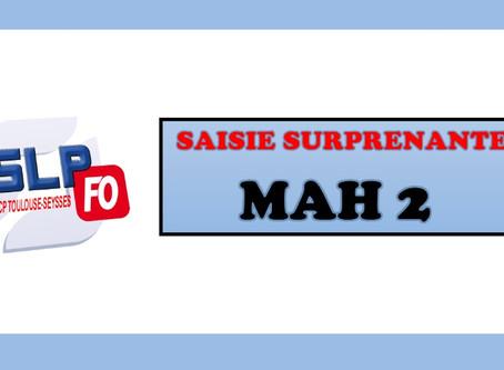 Prison de Toulouse-Seysses : Saisie surprenante MAH 2