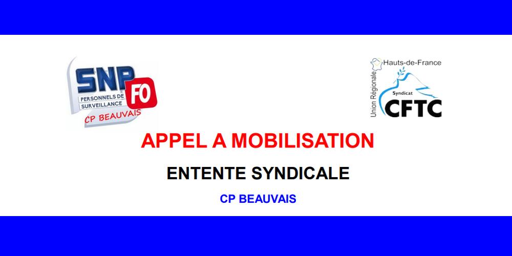 Prison De Beauvais Entente Syndicale Appel Mobilisation