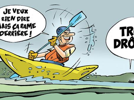 Prison de Caen : Ballade en barque