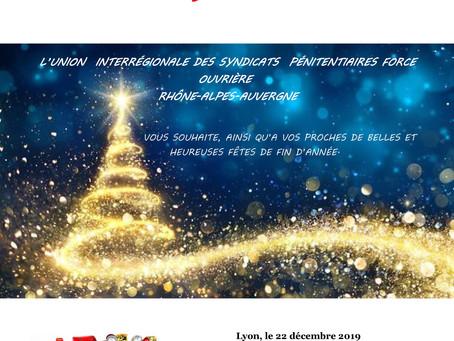 DI de Lyon : Joyeuses fêtes