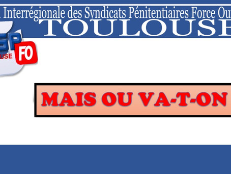 DISP de Toulouse : Mais où va-t-on ?