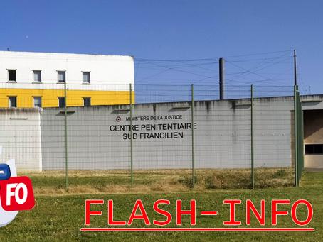 Prison de Réau Sud-Francilien : Comité technique du 25 Juillet 2009