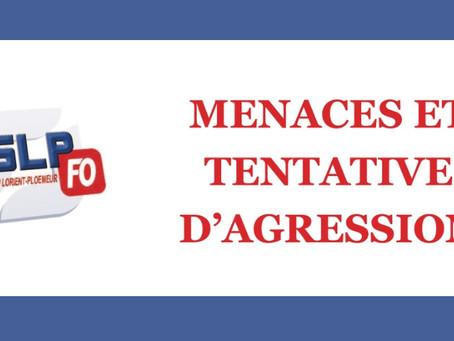 Prison de Lorient-Ploemeur : Menaces et tentative d'agression