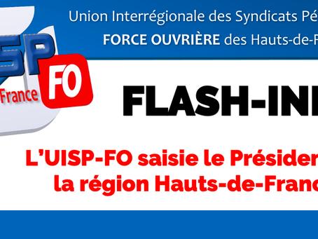L'UISP-FO saisie le président de la région Hauts-de-France
