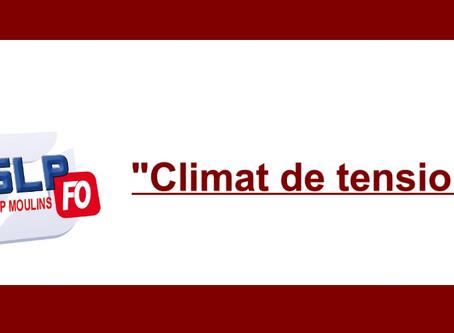 """Prison de Moulins : """"Climat de tension"""""""