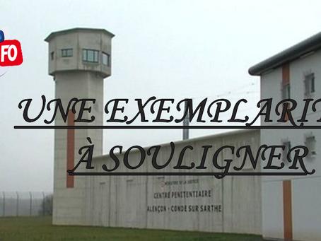 Prison de Condé-sur-Sarthe : Une exemplarité à souligner