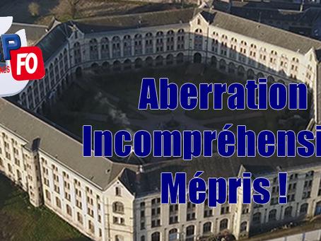 Prison de Rennes : Aberration Incompréhension Mépris !
