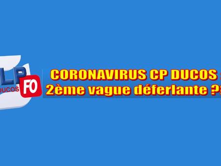 Prison de Ducos : Coronavirus, 2ème vague déferlante ???