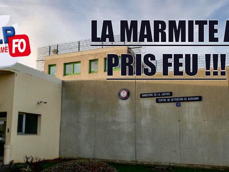 Prison de Bapaume : La marmite a pris feu !!!