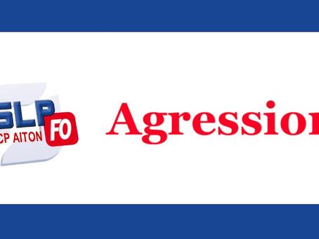 Prison d'Aiton : Agression