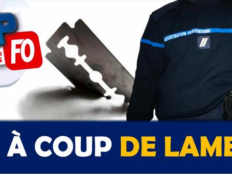 Prison de Beauvais : À coup de lame !