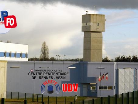 Prison de Rennes-Vezin : Alerte Unité pour Détenus Violents