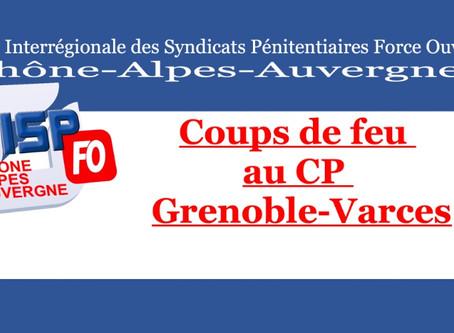 Coups de feu au centre pénitentiaire de Grenoble-Varces