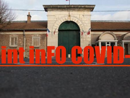 Prison de Fresnes : Point inFO COVID-19