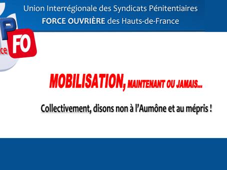 DI des Hauts-de-France : Mobilisation, maintenant ou jamais... Collectivement, disons non à l'au