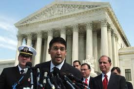 """The hand I was holding was the hand of Justice"", Neal Katyal"