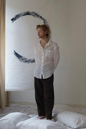 Men's Shelsley Shirt / Organic Linen