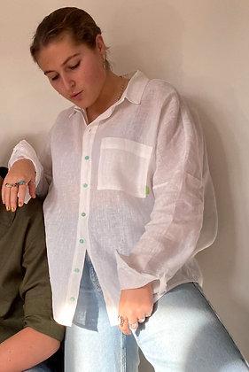 Women's Shelsley Shirt / Organic Linen