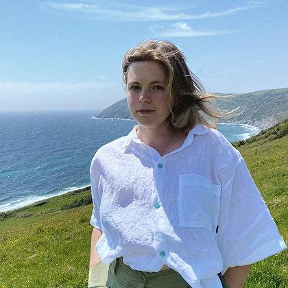 Women's Arwenack Shirt / Organic Linen