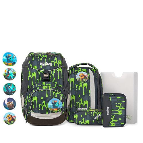 ergobag pack 6-teiliges Schulrucksack-Set GlibBär