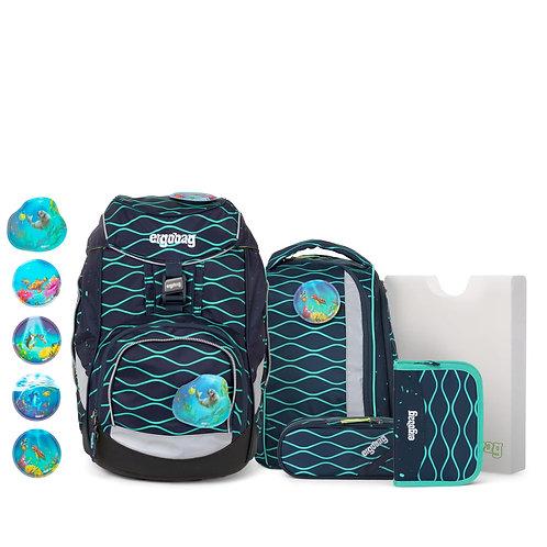 ergobag pack 6-teiliges Schulrucksack-Set BlubbBär