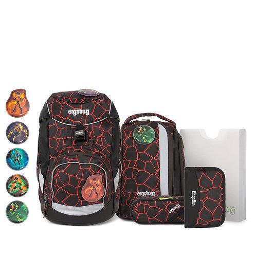 ergobag pack 6-teiliges Schulrucksack-Set SupBärheld
