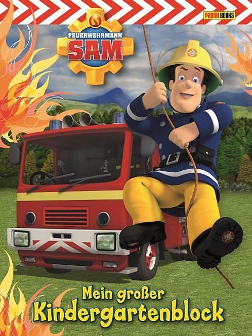 Feuerwehrmann Sam Kindergartenblock