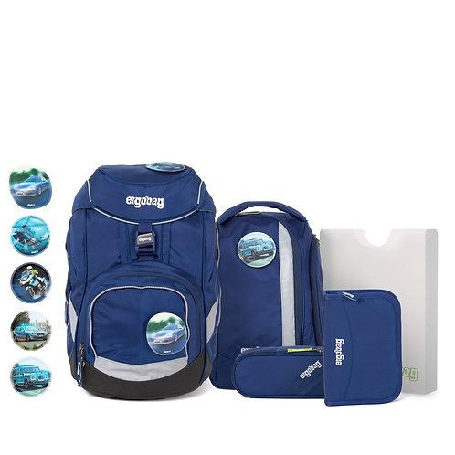 ergobag pack 6-teiliges Schulrucksack-Set BlaulichtBär