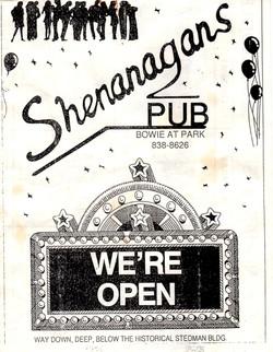 Shenanagans Pub