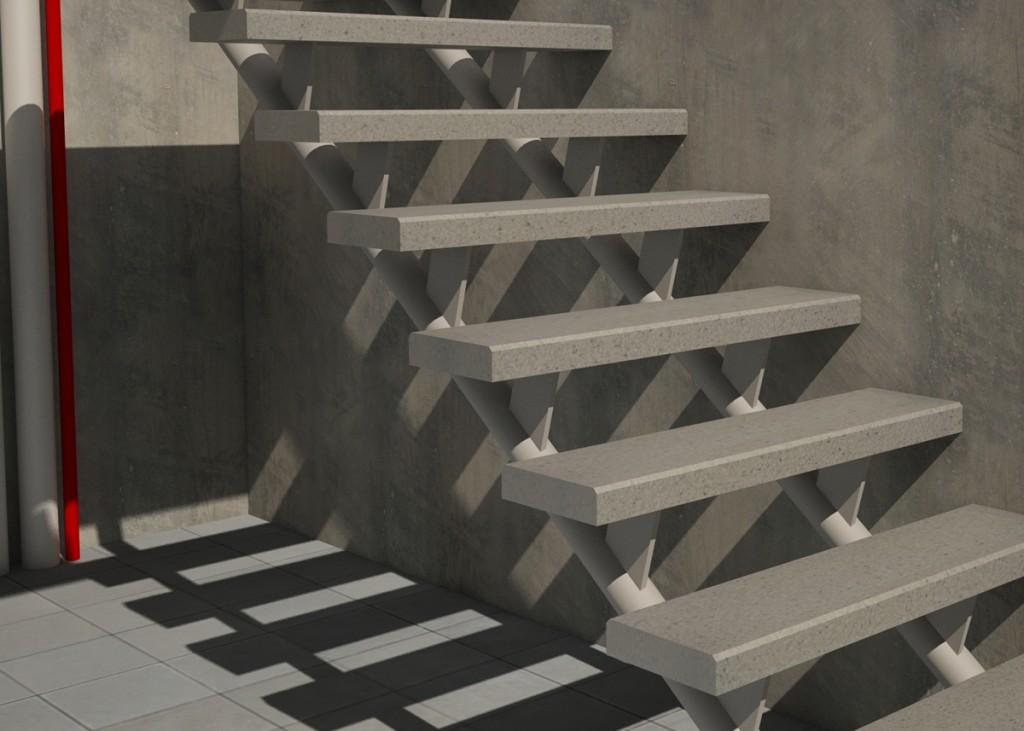 Sospechosa muerte de mujer desnucada al caer de las - Escalera prefabricada de hormigon ...