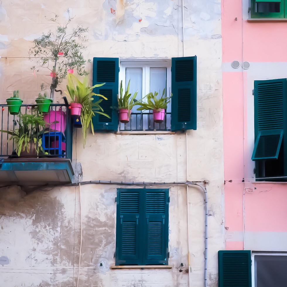 Cinque Terre Pink Italy fotografiapittsburgh.com