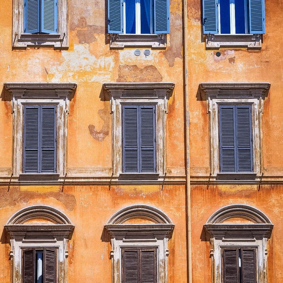 Rome, Italy Patina Facade fotografiapittsburgh.com