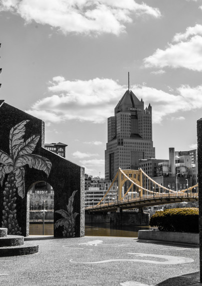 Mural Piazza Lavoro, Pittsburgh fotografiapittsburgh.com