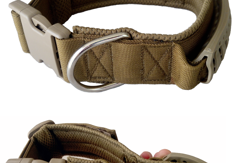 Military Style K9 Collar with Standard Buckle