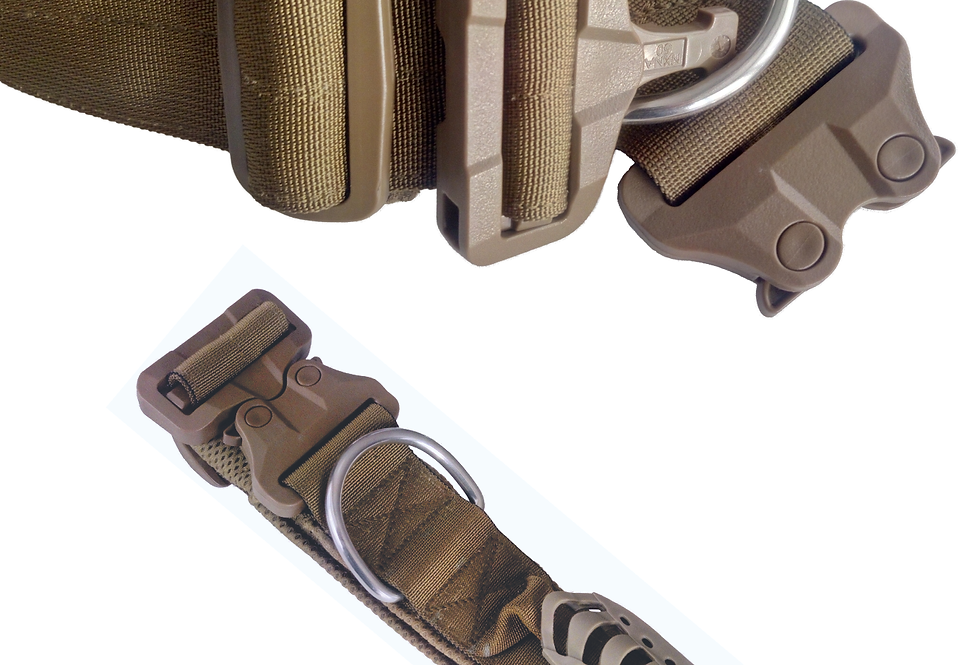 Military Style K9 Collar with GT Cobra® Buckle