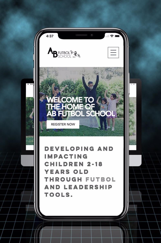 AB Futbol School - Mobile