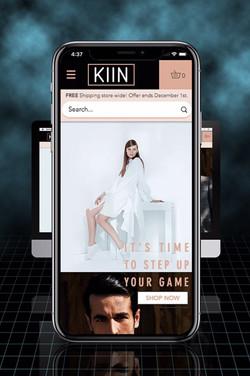 KIIN Brand - Mobile