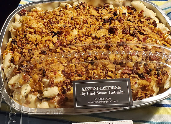 BACON CARMALIZED ONION MAC AND CHEESE