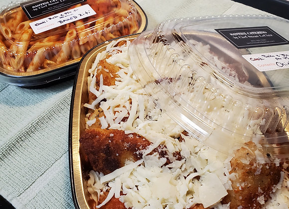 Chicken Parm with Baked Ziti