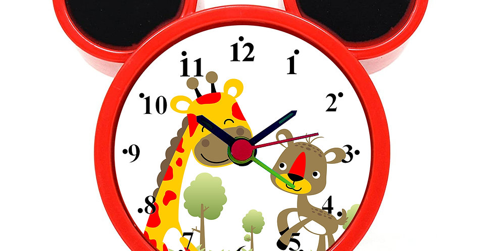 Cute Friendship Alarm Clock for Kids Room by WENS